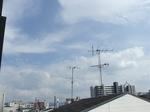 京都市内の空(10月20日)